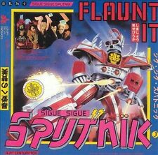 SIGUE SIGUE SPUTNIK - FLAUNT IT/DRESS FOR EXCESS USED - VERY GOOD CD