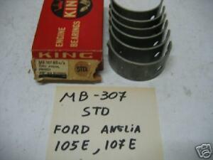 "Ford Anglia105E Prefect107E Cortina B/E Bearings "" STD"" KING  MB - 307 BB"