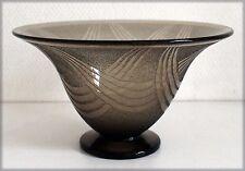 SCHNEIDER, Coupe évasée à motifs géométriques (partie en verre givré)