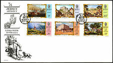 Jersey 1984 Links With Australia FDC First Day Cover #C42305