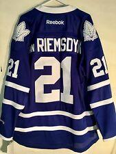 Reebok Premier NHL Jersey Toronto Maple Leafs James van Riemsdyk Blue sz L