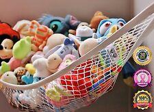 MiniOwls Toy Storage Hammock Large Kids Room White STORAGE Stuffed Animals New