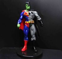 "2016 DC Comics  Arkham Origins TriForce BATMAN SUPERMAN MIX Action Figure 6"""