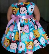 Handmade Clothes/American Girl Dolls/18 Inches/Minnie and Friends Dress.