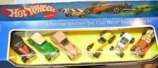 HOT WHEELS 6 VINTAGE VEHICLES 1990 AUBURN BUGATTI CLASSIC MACHINES