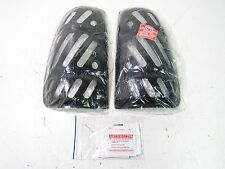 TOYOTA TUNDRA 1999-2003 (99-03) TAIL LIGHT COVER SMOKE SLOTTED (SET OF 2) *NEW*