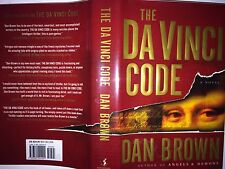 THE DA VINCI CODE BY DAN BROWN *SIGNED*FIRST EDITION*