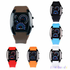 Aviator Sector Military Watches Mens Fashion LED Digital Sport Watch