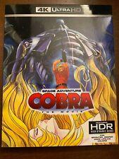 Space Adventure Cobra The Movie UHD Ultra HD 4k Discotek Official All Region