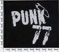 = PUNK 77 - embroidery patch ,aufnäher , naszywka