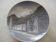 "Royal Copenhagen Denmark Aeroskobing Mini Collector Plate, #4434, 4 1/2"" Dia"
