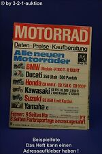 Motorrad 19/78 Suzuki GT 250 Harley Vespa P 200 E