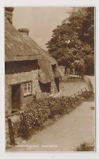 Dorset postcard - Hangmans Cottage, Dorchester - RP - P/U 1942