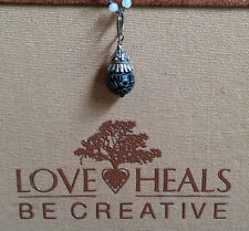 Love Heals Be Creative Pepper Agate Basket Cap Drop NEW retails $25.00