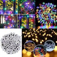 Solar Powerd 100/200LED String Fairy Tree Light Outdoor Wedding Party Xmas Lamp