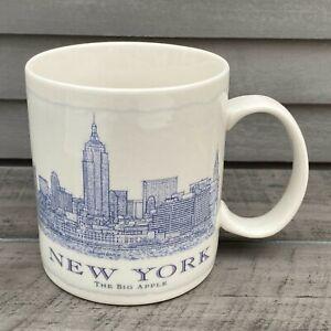 Starbucks New York City The Big Apple Coffee Mug 2011 Collection
