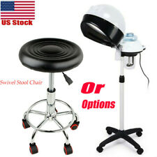 Professional Hair Steamer Rolling Stand / Swivel Stool Chair Salon Spa Equipment