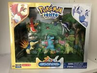 Pokemon Johto Forest Scene Playset Target Exclusive Gold & Silver Extremely Rare