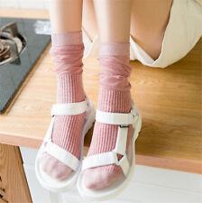 Autumn And Winter Fashion Harajuku Gold And Silver Stockings Cartoon Socks Women
