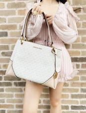 Michael Kors Николь большая наплечная сумка с короткими ручками ваниль подпись Mk балет розовый сумочка