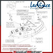 YAMAHA AEROX 50 KAT 2000 00 LEOVINCE ESCAPE COMPLETO HAND MADE TT ALUMINIO 4039