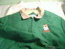 Women's CASA BAY CO. JACK RUSSELL TERRIER Green & Beige Coat Size XXL