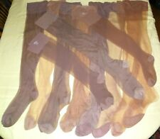 HUGE VINTAGE PRE OWNED NYLON STOCKINGS LOT~crafts~Private