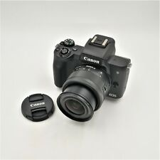Canon EOS M50 Mirrorless Camera Kit w/ EF-M15-45mm Lens (Black) **OPEN BOX**