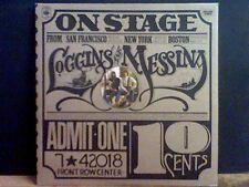 LOGGINS & MESSINA  On Stage  DBL  LP   Lovely copy !!