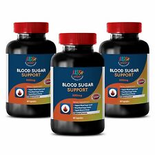 Maintaining Healthy Lifestyle - Blood Sugar Support 600mg - Ground Cinnamon 3B