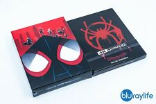 Spider-Man: Into the Spider-Verse + RESIN MAGNET 4K + 3D + 2D Blu-Ray Steelbook