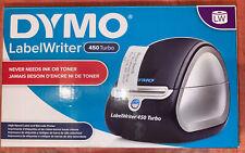 New listing Dymo, LabelWriter, 450 Turbo, Monochrome Direct Thermal Label Printer (Black)
