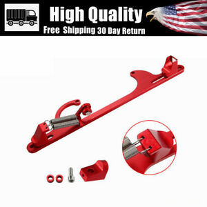 Red Throttle Cable Bracket Kit 4150 4160 Cable Bracket Kit