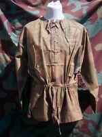 Camiciotto mimetico tedesco M40 sumpfmuster, WW2 German tan & water smock