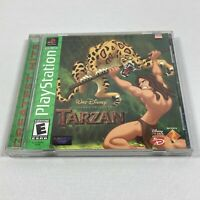 Disney's Tarzan GH Greatest Hits (Sony PlayStation 1 Ps1) Complete Tested