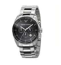 Brand NEW Men's Emporio Armani Stainless Steel Chronograph Watch-AR0585-RRP £295