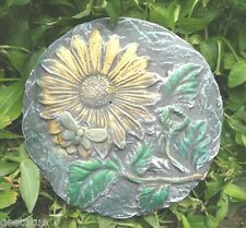 Sun flower and bee plastic casting mold