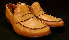 Vintage Neiman-Marcus Loafers - 8M - Tan Leather, Softy, Nice
