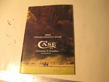 W. R. Case XX 2014 Spring Product Guide, 50 pages 6.5 x 9.5 (50)
