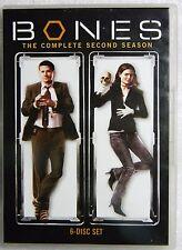 LIKE NEW Bones -Season 2 2006/07 WS DVD Michaela Conlin Emily Deschanel Boreanaz