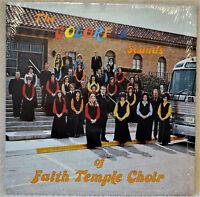 Faith Temple Choir The Colorful Sounds of LP Shrink NM Relgious Gospel Christian