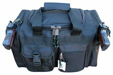 "20"" Black SWAT Police Duffle Duty Bag Gun Personalized for FREE with Name & Logo"