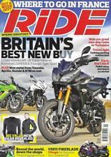 Ride Motorbike Magazine May 2015 YAMAHA MT-09 TRACER KAWASAKI Z1000SX FRANCE
