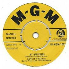 """Connie Francis """" My happiness """"  Angleterre"""