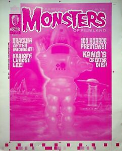 Famous Monsters of Filmland #133 Pub Master ROBBY THE ROBOT Cover Proof 1977 #WA