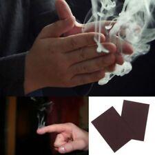 10XMystic Finger Up Close Smoke Magic Trick Smoking Illusion Paper Kids Magician