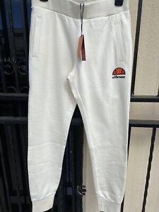NWT Ladies Ellesse Off White Jogger Track Pants. RRP $90