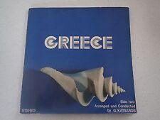 Greece National Tourist Organisation Of Greece VINYL LP