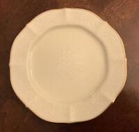 "Noritake China Chandon Gold 8 1/4"" Salad Plate 7306"