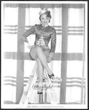 Iris Adrian ORIGINAL 1930s Doubleweight Paramount Portrait Photo 1930s Fashion